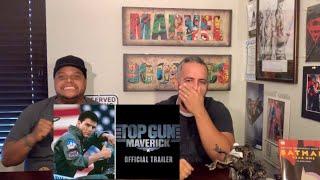Top Gun: Maverick trailer reaction