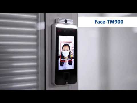 Face & Palm verification and Body Temperature Detection System - Face-TM900