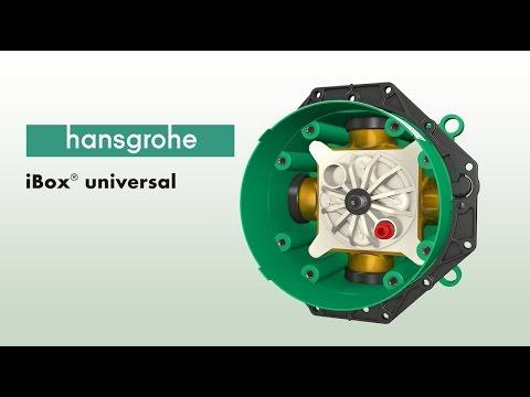 фото - Монтажная коробка Hansgrohe Ibox Universal 01800180