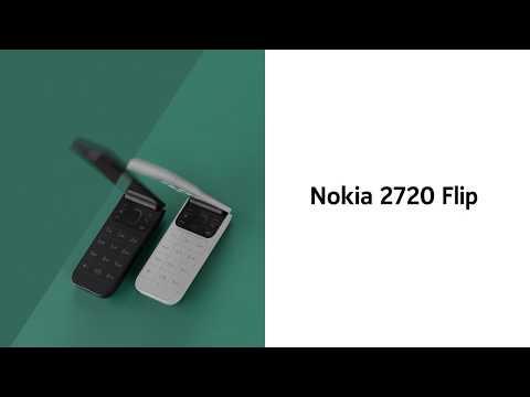 """Nokia 2720 Flip (4GB, Grey, 2.80"""", Dual SIM, 2Mpx, 4G)"""