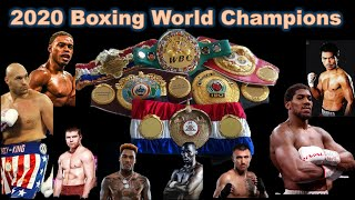 2020 CURRENT WORLD BOXING CHAMPIONS - (((MUST WATCH)))