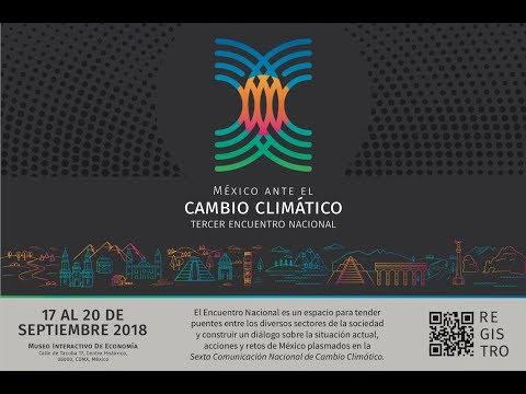 Inauguración del 3.º Encuentro Nacional Sobre Cambio Climático