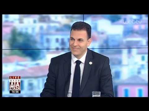 Ο Γιώργος Καραμέρος υποψήφιος Δήμαρχος στο δήμο Αμαρουσίου, στην «Αλλη Διάσταση». | 19/02/19 | ΕΡΤ