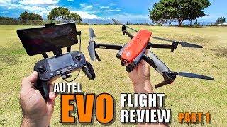 AUTEL EVO Review - [Flight Test Part 1 In-Depth / Pros & Cons] Better Than a Mavic?