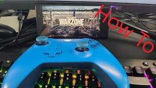 How to Play Warzone on your PHONE!!! Xbox Remote Play Is it GOOD???