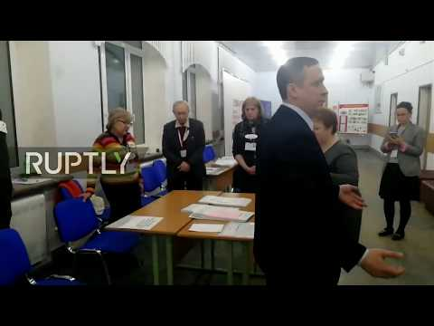 LIVE: Russian presidential election: polls closing and vote counting