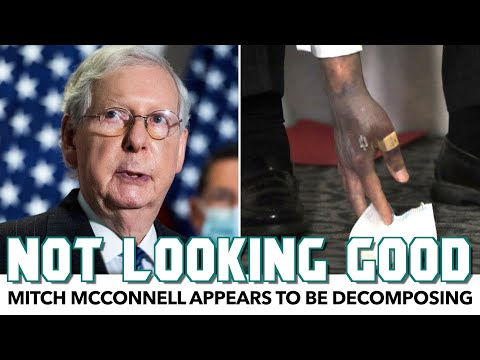 Mitch McConnell Appears To Be Decomposing Before Our Eyes