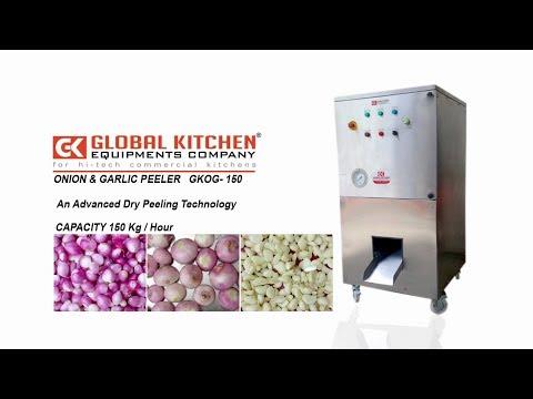 Onion and Garlic Peeler Machine