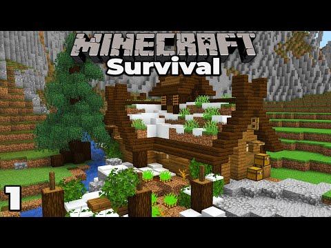 BRAND NEW VILLAGE : Minecraft 1.15 Survival Let's Play #1