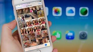 Загрузка фотографий с резервной копии iCloud