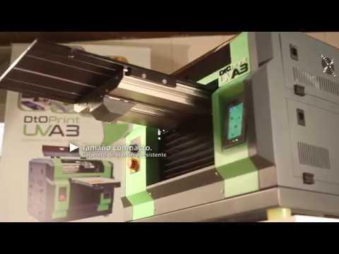 DTOprint UVA3: La impresora digital que da rienda suelta a su imaginación