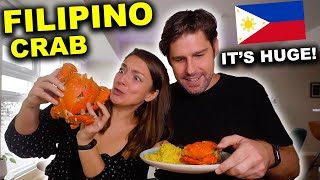 INSANE Filipino CRAB FEAST In Manila