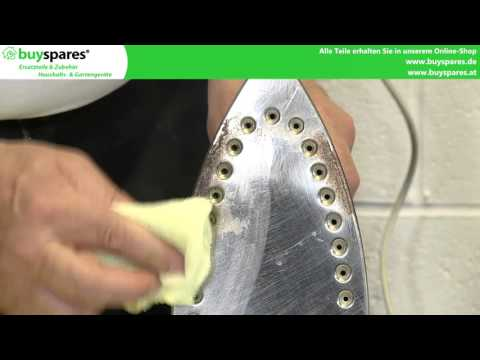 Anleitung: Bügeleisen richtig reinigen