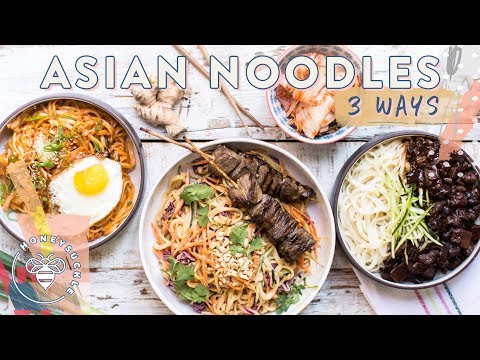 3 INCREDIBLE ASIAN NOODLE DISHES – Honeysuckle