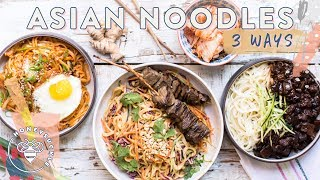 3 INCREDIBLE ASIAN NOODLE DISHES | HONEYSUCKLE