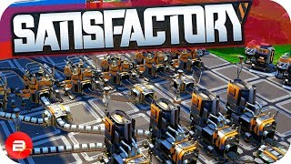 Automation of All the Things & Space Elevator in Satisfactory! (Satisfactory Gameplay)
