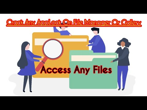 Crack Gallery and File Manager AppLock | Access Files Without Password Easy Trick