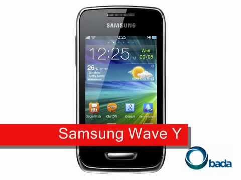 Youtube Video Samsung Wave Y S5380 in sand silver