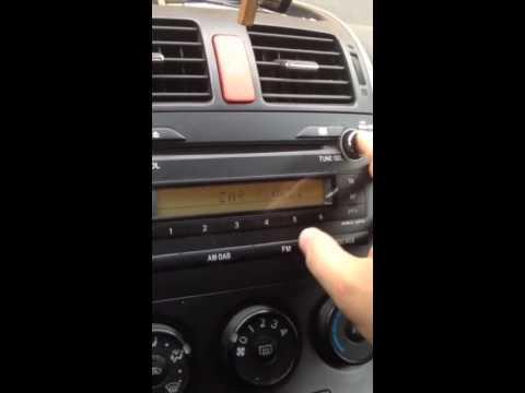 Toyota Auris Bluetooth Telefonu Eşleştirme (2010-2012 Makyajlı Kasa)