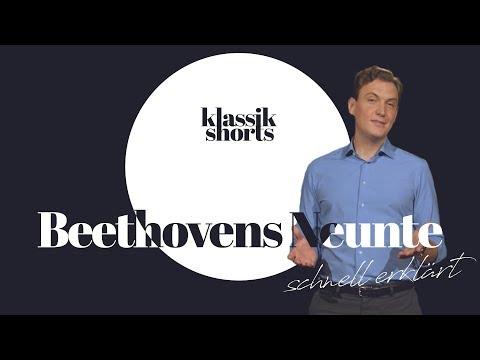 Beethoven 9. Symphonie schnell erklärt   klassik shorts