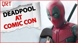 QRT | COMIC CON INDIA | DEADPOOL Cosplay at Comic Con Delhi | Deadpool in Comic Con