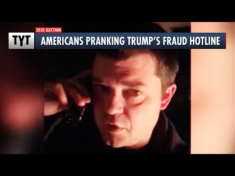 Trump's Fraud Hotline Flooded with Prank Calls