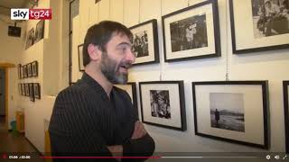 """Sky Tg24 ha trasmesso un servizio con intervista al nostro curatore per """"Human Rights"""""""