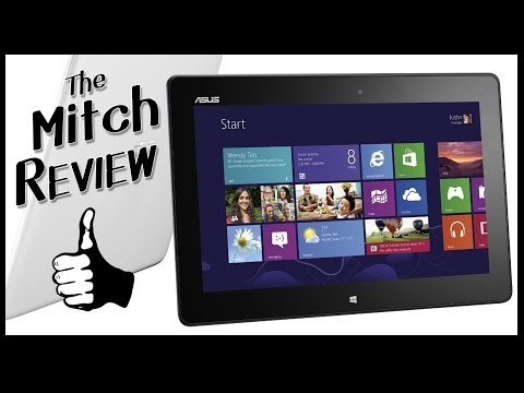 Asus VivoTab Smart Tablet Review - Windows 8 Full Version