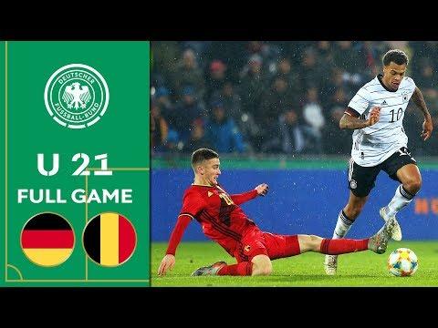 Germany vs. Belgium 2:3 |Full Game | U 21 Euro Qualifiers