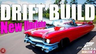 Forza Horizon 4: Cadillac Eldorado 1,000+ HP DRIFT BUILD!! NEW UPDATE GAMEPLAY