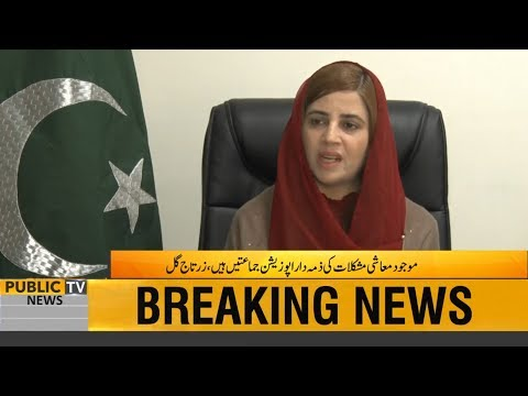 Exclusive talk with Minister of Climate Change Zartaj Gul
