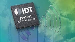 IDT 8V97051 Wideband RF Synthesizer/PLL