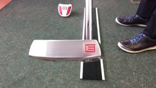 EVNROLL Putters - Velvet Putting Board Demonstration