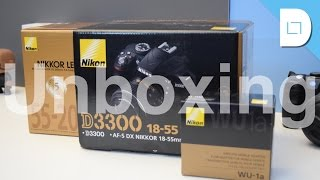 Nikon D3300 Bundle Unboxing!