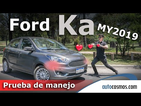 Ford Ka MY 2019 AT a prueba