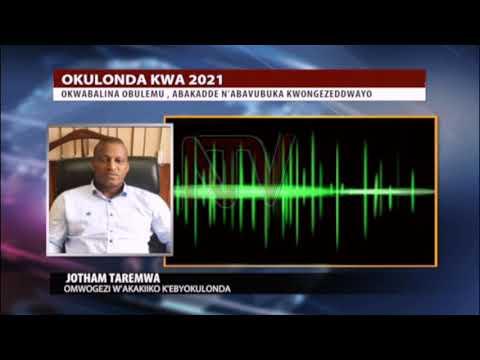 AKALULU KA 2021: Waliwo akakiiko k'ebyokulonda bye kayimirizza