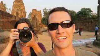 AMAZING SUNSET VIEWS at Angkor Wat | Pre Rup Temple