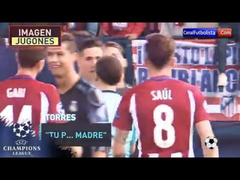 Así fue el enfado de Fernando Torres con Cristiano Ronaldo en Champions