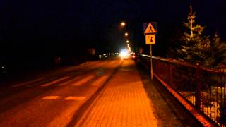 preview picture of video 'Przyjazd Mercedesa do OSP Dalachów!'