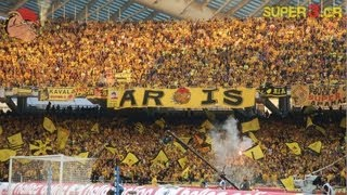 30.000 ARIS Fans In Athens - Greek Cup Final 2010 | SUPER3 Official