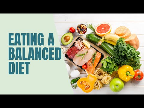 Eating a balanced diet (voice)