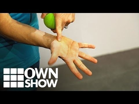 Video The Secret Pressure Point To Ease Neck Pain | #OWNSHOW | Oprah Online