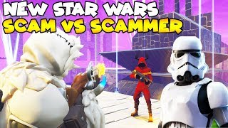 NEW Star Wars SCAM vs Dumbest Scammer! 😱 (Scammer Gets Scammed) Fortnite Save The World