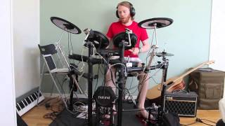 Daft Punk - Contact - Drum Cover