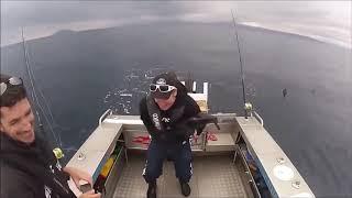 Веселые случаи на рыбалке.