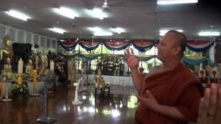 preview picture of video 'A  nice tempel in Banglamung outside Pattaya'