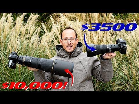 Nikon 500mm PF f5.6 vs the f4 FL