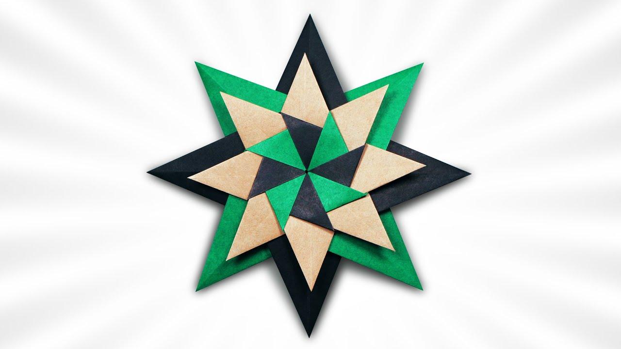 Origami Stella Repetita Iuvant (Andrey Hechuev)