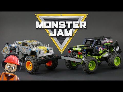 Vidéo LEGO Technic 42118 : Monster Jam Grave Digger