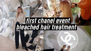 Our First Chanel Event!! Bleached Hair Treatment at Korean Salon (Lumio Beauty House) | DTV #41